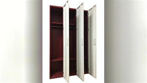 Wardrobe Closet With Lock by Metal Wardrobe Cabinet With Lock Steel Lockable Wardrobe