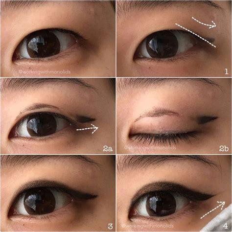 ideas  hooded eyes eyeliner  pinterest