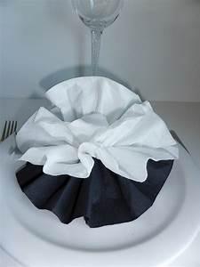 Pliage En Papier : pliage de serviette de table en forme de fleur de pivoine ~ Melissatoandfro.com Idées de Décoration