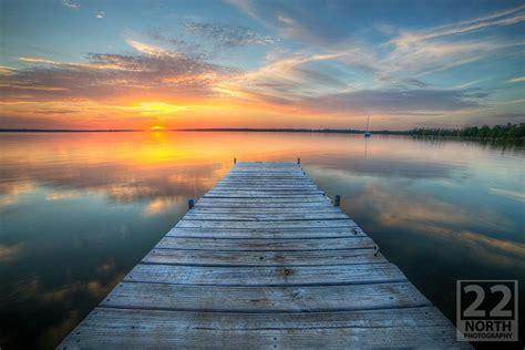 sunset   dock photo brian edward mynorthcom