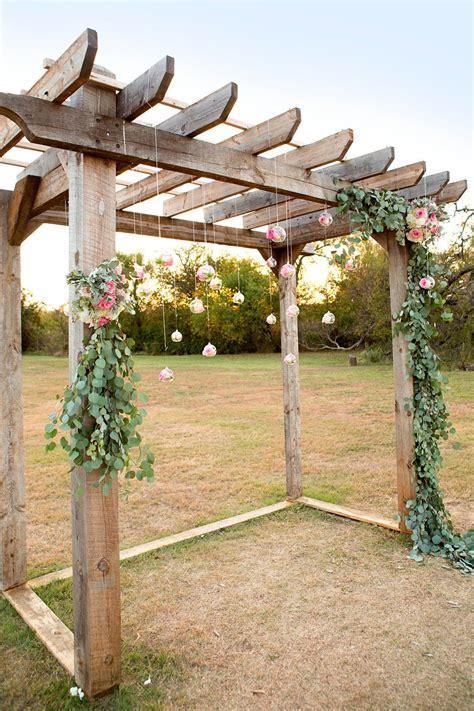 wow pergola diy eucalyptus garland with floral hanging