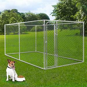 chain link fence dog kennel of item 106506253 With dog crate fence