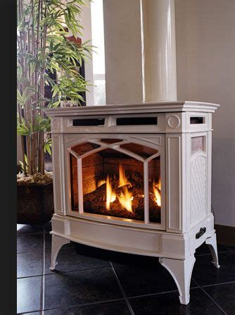 propane freestanding fireplace photo  propane
