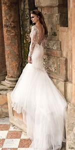 Persy 2016 le jardin wedding dresses exclusive first for Lace fit and flare wedding dress with sleeves