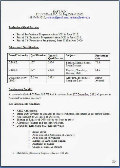 Resume Companies India by Resume Templates