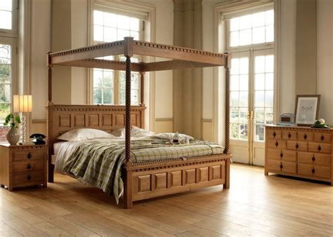poster bed  county kerry handmade  solid wood