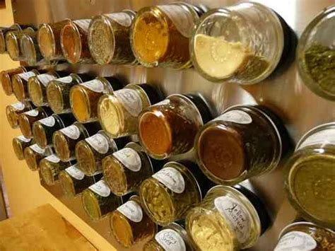 Make A Magnetic Spice Rack by How To Make A Wall Mounted Magnetic Spice Rack Reader Tips