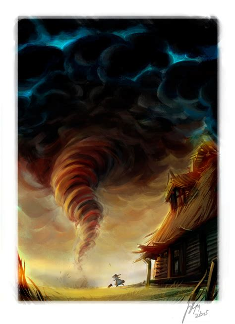 twister wizard of oz a tornado to oz by ritam on deviantart