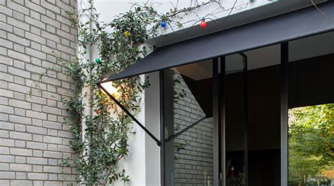 door awning architectural digest