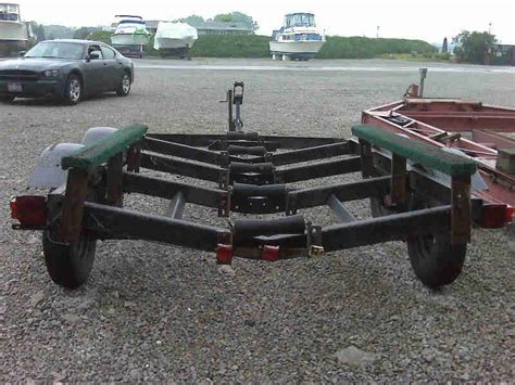 Boat Trailer Axle Jack by Tandem Axle Shoreline Boat Trailer The Hull Truth