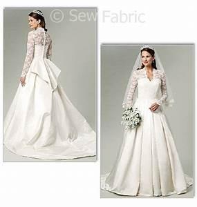5731 butterick sewing pattern kate middleton royal With butterick wedding dress patterns