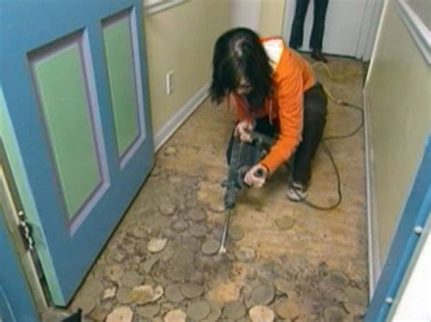 Can You Lay Vinyl Tile Linoleum by How To Install Linoleum Flooring How Tos Diy