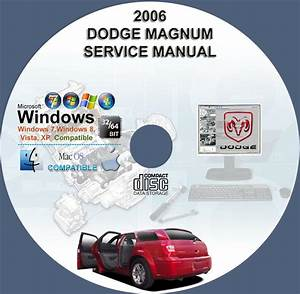 Dodge Magnum 2005 Service Repair Manual On Cd 05