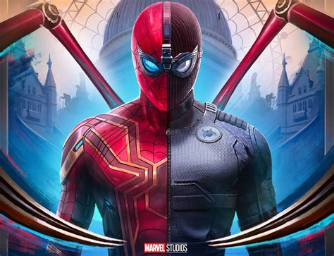 wallpaper   day spider man   home word