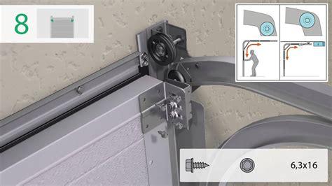 instructions de montage pour portes de garage