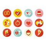 Marry Vector Elements Icons Married Marriage Vectors