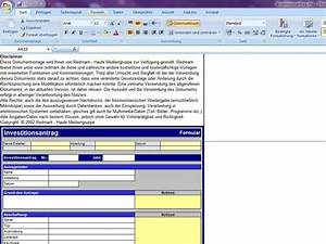 Handwerkerpfusch Rechnung Kürzen : investitionsantrag ~ Themetempest.com Abrechnung