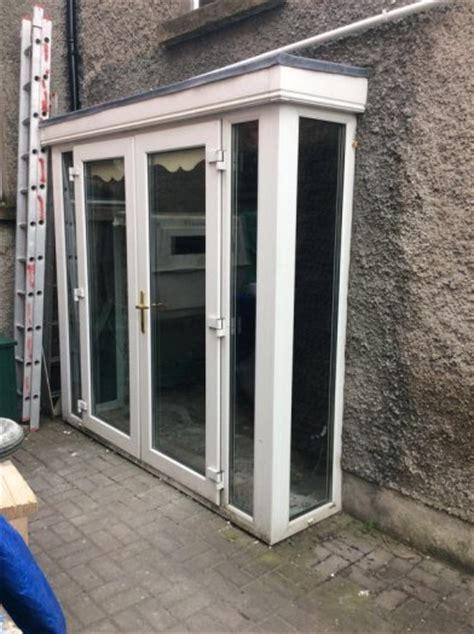 Pvc Conservatory Green House Porch Lean To Shed Door