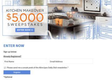 kitchen makeover contest 5 000 kitchen makeover sweepstakes 2257