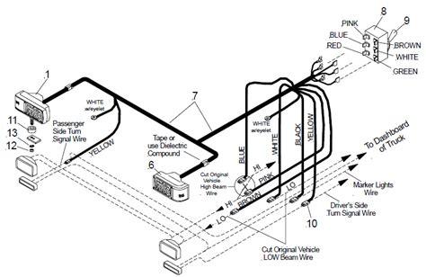 Plow Light Wiring Diagram by Truck Light Plow Lights
