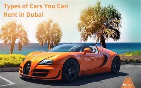 6 Car Types That You Can Rent Form Car Rental Dealers In Dubai