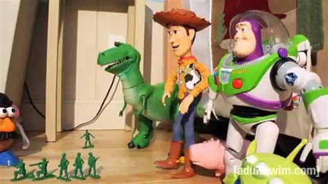 Toy Story 4 Robot Chicken Adult Swim Funny Cats