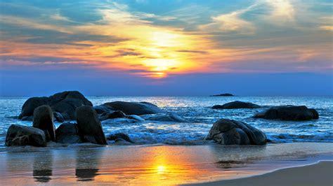 wallpaper sea   wallpaper  pacific ocean  beaches   world shore stones