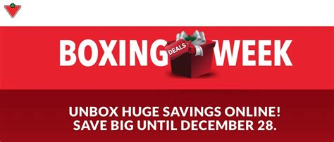 canadian tire boxing day canada