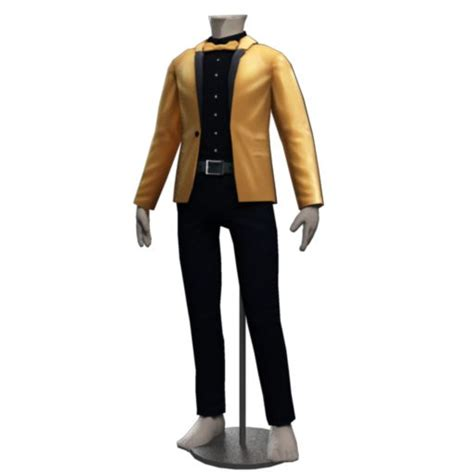 avakin male ikon suit glittering jumpers bodysuits vests shirts