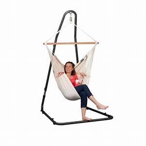 Support Chaise Hamac : support r glable pour chaise hamac mediterr neo ~ Melissatoandfro.com Idées de Décoration
