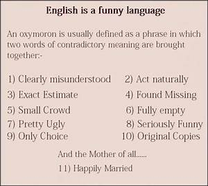 English is a funny language - Jokes, Memes & Pictures