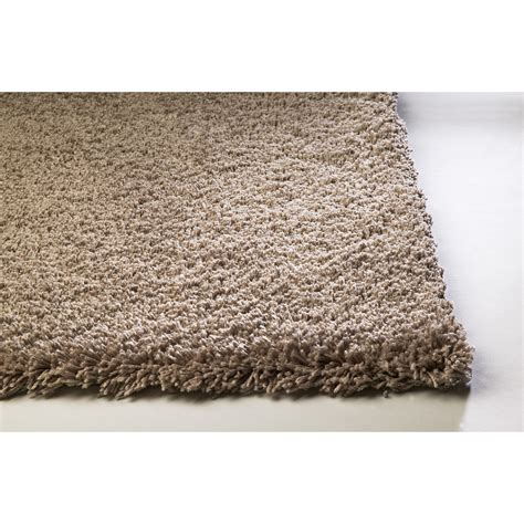 8x10 shag rug shop sofia shag brown rectangular indoor machine made area