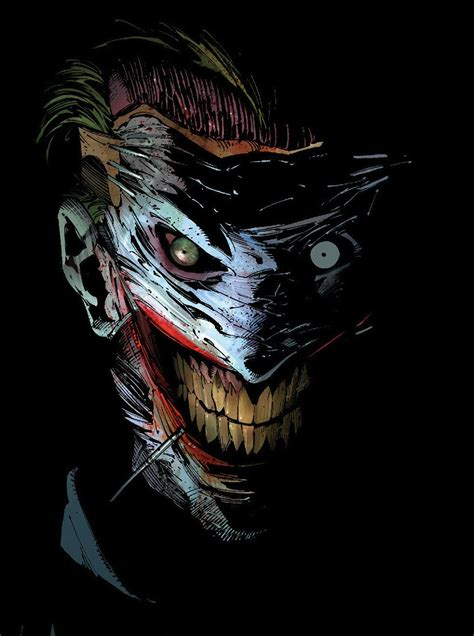 joker batman kostüm scariest depiction of the joker batman comic vine