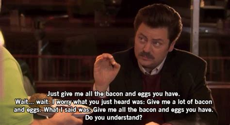 Parks And Rec Memes - parks and recreation 25 great ron swanson quotes ign