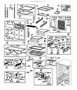 Parts For Samsung Rf4289hars  Xaa