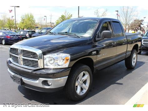 2007 Dodge Ram by 2007 Dodge Ram 1500 Slt Cab 4x4 In Brilliant Black