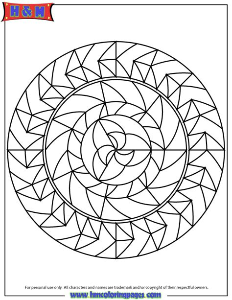 abstract pattern mandala coloring page   coloring pages