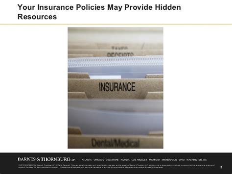 Finding Resources In Your Insurance Policies
