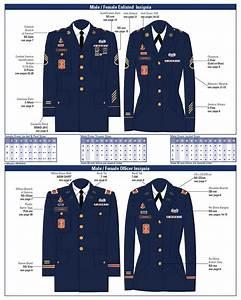 Army Uniform  Measurements For Asu Army Uniform
