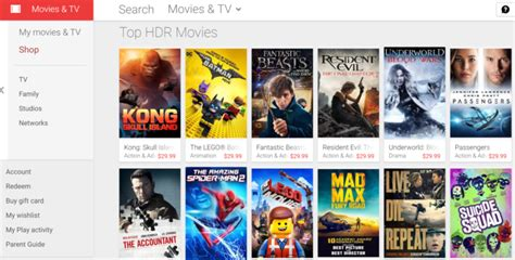 Google Finally Adds Hdr Support Its Play Movies & Tv Service