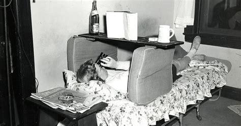 A Student 'studies' In Her Dorm Room. . Vassar College