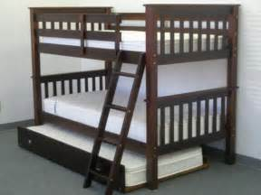 save on bunk bed with trundle brown