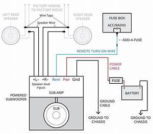 How To Wire A 5 Channel Amp Diagram  U2013 Volovets Info