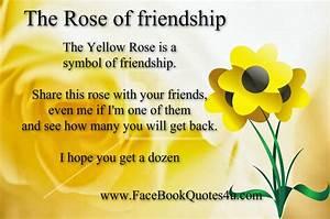 Roses Friendship Quotes. QuotesGram