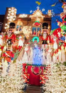 christmas decorations  dyker heights