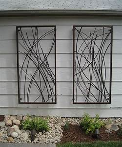 Best ideas about outdoor wall art on patio