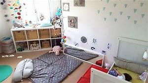 Lit Au Sol Pour Bébé : lit au sol pour b b 1 on se lance montessori cie ~ Dallasstarsshop.com Idées de Décoration