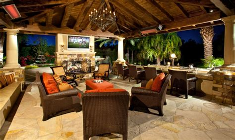 Inside Outside Living Room Ideas by Outdoor Kitchen Covered Patio Ideas