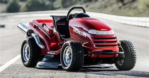 Worlds Fastest Honda by Honda S 130 Mph Mower Is The Fastest