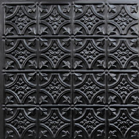 Decorative Ceiling Tiles 24x24 by 150 Faux Tin Ceiling Tile Glue Up 24x24 Black Ceiling